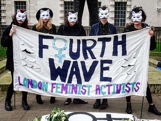 Fourth-wave feminism - International Women's Day, London, 2017