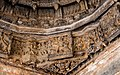 Intricate closeup of the Ceiling inside Chennakesava Temple, Anekere, Channarayapatna 07.jpg