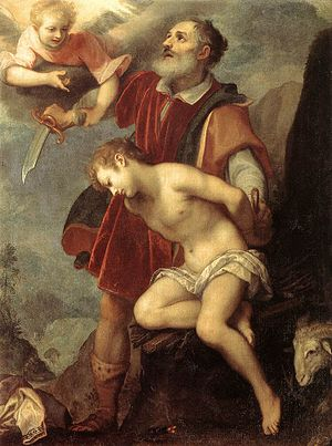 Counter-Maniera - The Sacrifice of Isaac, by Ludovico Cigoli