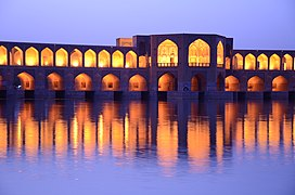 Isfahan - Khakoo bridge - panoramio.jpg