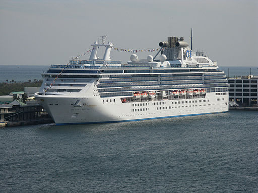 Island Princess in Port Everglades