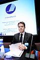 Islands nordiska samarbets- och handelsminister Bjorgvin Gudni Sigurdsson vid Nordiska radets session i Helsingfors. 2008-10-27.jpg