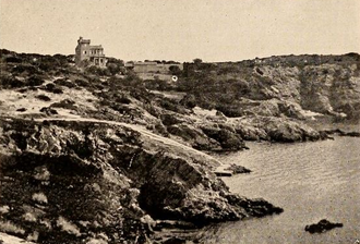 Charles Richet - Photograph of Isle Roubaud in the Mediterranean.