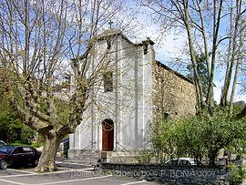 La eklezio de Pietrapola en Isolaccio-di-Fiumorbo