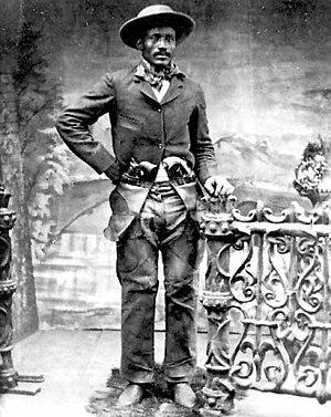 Tom Horn - Ned Huddleston, alias Isom Dart. Brown's Hole, Wyoming, c. 1890s.