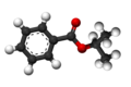 Isopropyl benzoate3D.png
