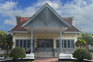 English: House of Ir. Soekarno, First Presiden...