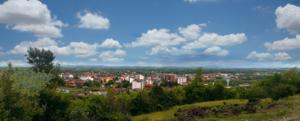 Istok - Town panorama of Istok