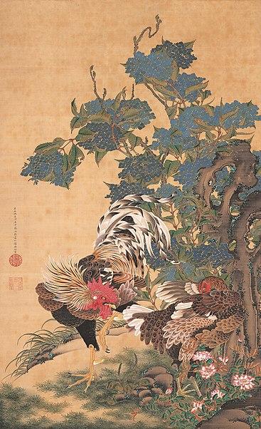 ito jakuchu - image 1