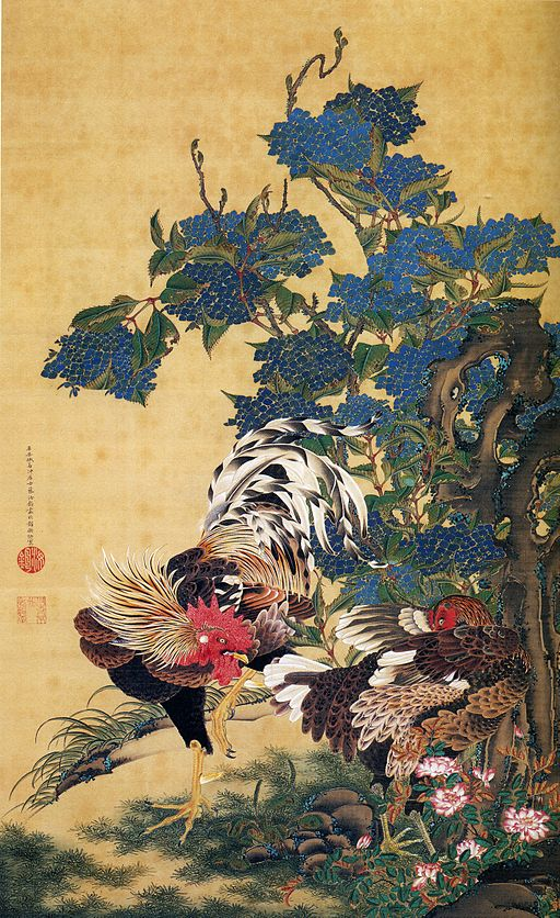 Ito Jakuchu AjisaiSoukei-zu