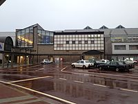 Itoigawa Station (North Entrance) 20150122.JPG