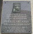Ivo Kozarčanin spomen ploča Zaprešić.jpg