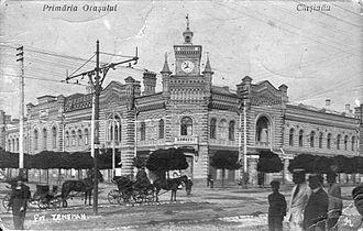 Lăpușna County (Romania) - Lăpușna County prefecture building during the interwar period, later used as Chişinău city hall.