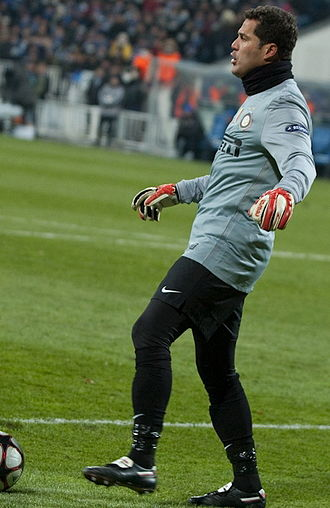 Júlio César (football goalkeeper, born 1979) - Júlio César in action with Inter Milan