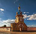 Jēkabpils Sv. Gara klosteris, Jēkabpils, zvanu tornis.jpg