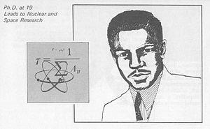 J. Ernest Wilkins Jr. - Image: J. Ernest Wilkins Jr. (short biographies and sketches U.S. Gov'mt GPO) V2 cropped