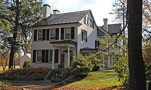 Jacobsburg Environmental Education Center - The house Boulton built 1832