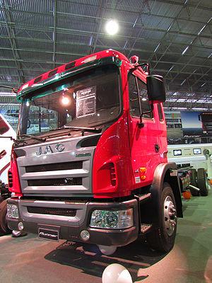 JAC Motors - Image: JAC Runner HFC 1132 2012