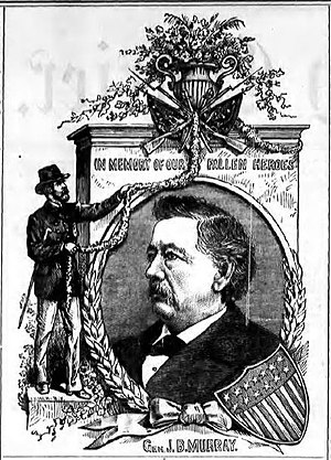 John B. Murray (general) - From the Seneca County Courier, June 4, 1885