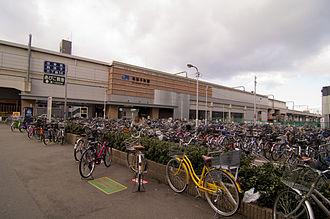 Abikochō Station - Station building