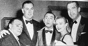 Jack Entratter - Entratter (second from left)
