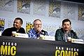 Jacob Anderson, Liam Cunningham & Nikolaj Coster-Waldau (48427263837).jpg
