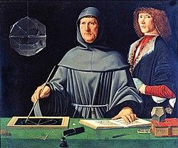 Jacopo de' Barbari: Portrait of Luca Pacioli