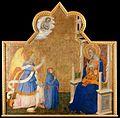 Jacopo di Cione - Anunciación con mecenas.jpg