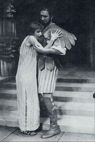 Jadwiga Jankowska-Cieślak - Jadwiga Jankowska-Cieślak on stage as Electra, 1973