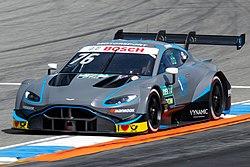 Jake Dennis 2019 DTM Hockenheim (May) FP1.jpg