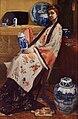 James Abbott McNeill Whistler - Purple and Rose- The Lange Leizen of the Six Marks - Google Art Project.jpg