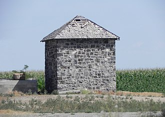 National Register of Historic Places listings in Jerome County, Idaho - Image: James Bothwell Water Tank House