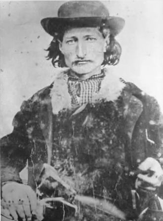 Wild Bill Hickok - James B. Hickok, in the 1860s, during his pre-gunfighter days