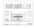 James M. Roberts House, Route 5, Galena, Jo Daviess County, IL HABS ILL,43-GALA.V,2- (sheet 1 of 6).png