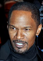 Photo of Jamie Foxx at the French premiere of his film, Django Unchained in 2013.