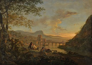 Landscape with Ponte Molle