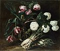 Jan Fyt - Vase of Flowers and two Bunch of Asparagus.jpg