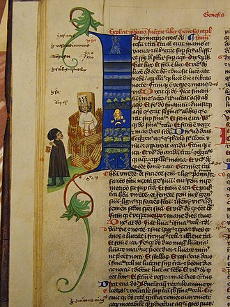 Jan Hus - The oldest known representation of Jan Hus is from Martinická bible.