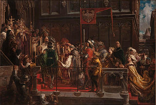 Baptism of Wladislaus III of Poland 18 02 1425