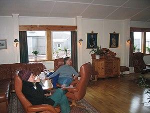 Olonkinbyen - Jan Mayen livingroom