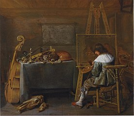 Artist in his Workshop