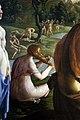 Jan van scorel, battesimo di cristo nel giordano, 1530 ca. 03 fanciulla che si pettina.jpg