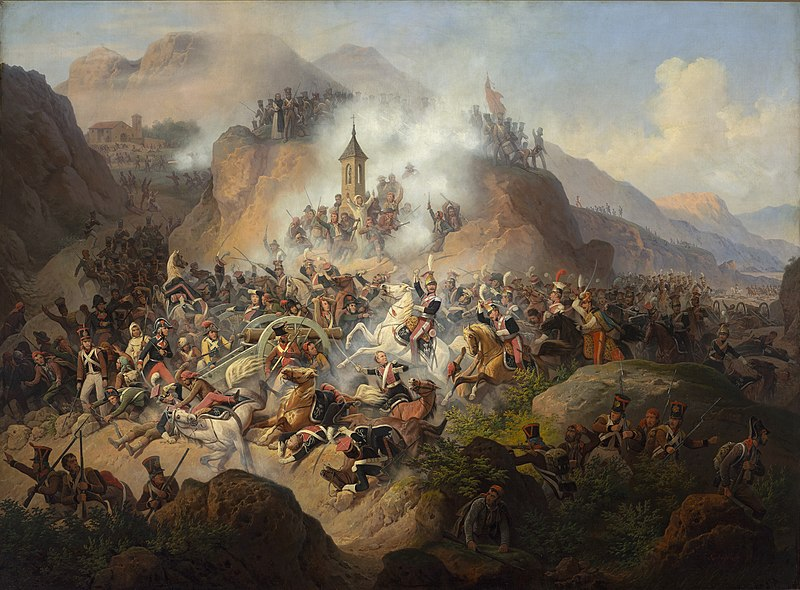 January Suchodolski, Bitwa pod Somosierr%C4%85.jpg