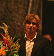 Janusz Radek po koncercie oratorium Tu Es Petrus w Jeleniej Górze (Silesia Sonans 2006)