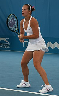 Jarmila Gajdosova at the 2009 Brisbane International.jpg