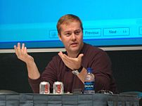 Jason Calacanis at Gnomedex. Jason: