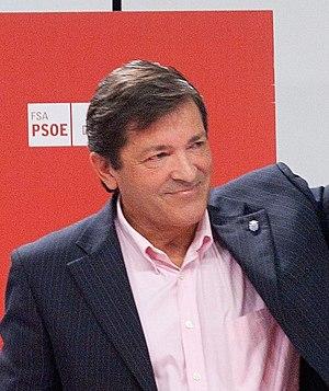President of the Principality of Asturias - Image: Javierfernandezferna ndezcrop