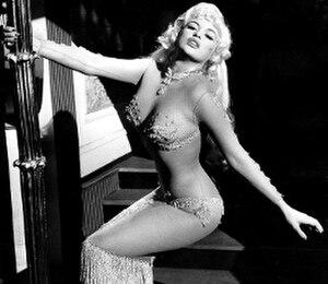 Jayne Mansfield - Mansfield in Too Hot to Handle (1960)