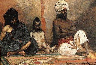 Seated Arabs