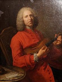 Le musicien Rameau (portrait)
